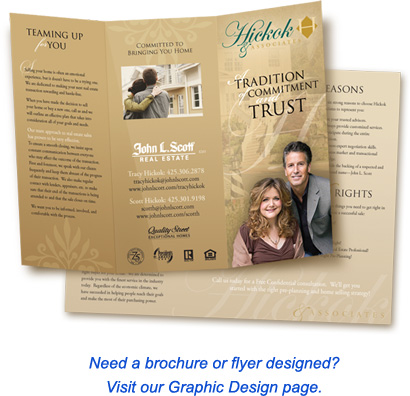 Need a brochure or flyer designed? Click here for details.